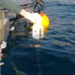 نمونه برداری از رسوبات دریا