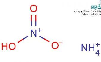 آزمایش آمونیاک آب
